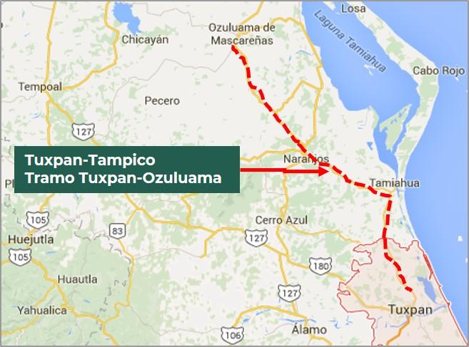 México busca modernizar tramo de autopista de Veracruz