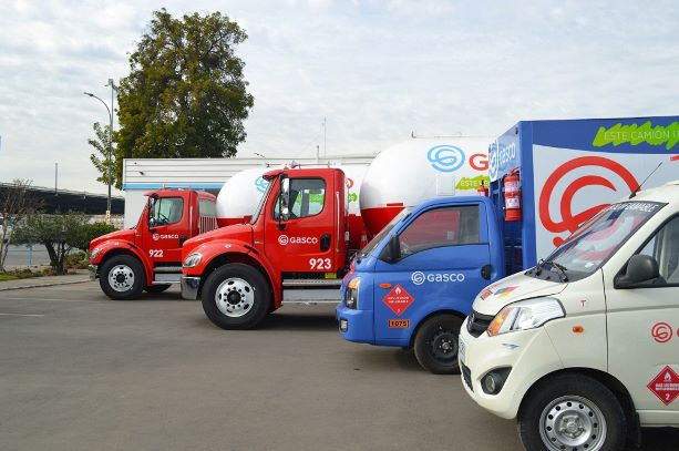Gasco renews its operating fleet with liquefied gas vehicles