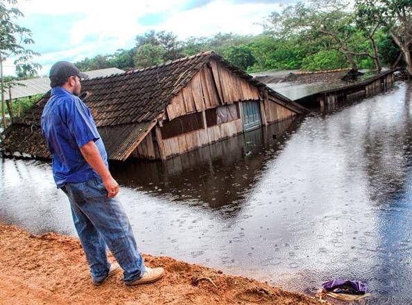 Bolivia sufre inundaciones y aluviones en zona altiplánica