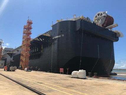 Petrobras prepara modificación de FPSO P-71