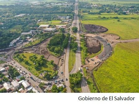 El Salvador avanza con obras viales