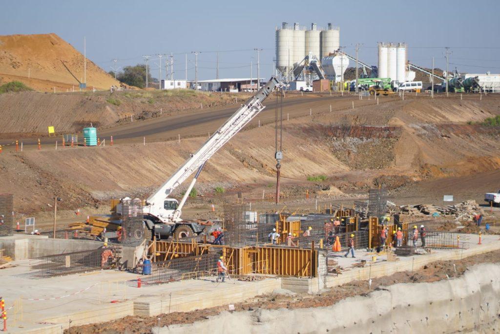 Aña Cuá avanza con la construcción de futura casa de máquinas, canal de restitución y presa