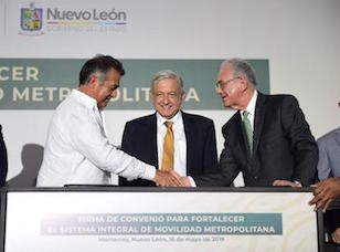 México presenta tren de pasajeros de US$680mn para Nuevo León