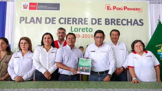 Plan de Cierre de Brechas: invertirán 5292 millones de soles entre 2020 y 2025 para impulsar obras que impacten en veinticinco distritos del ámbito petrolero de la región Loreto