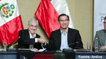 Perú y Chile respaldan a gobierno de Moreno