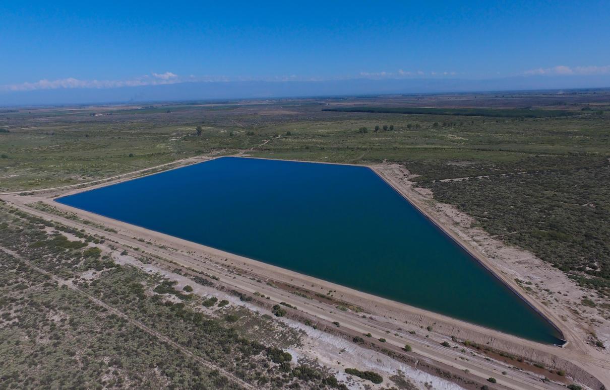 Mendoza concluye obras de riego financiadas por el BID