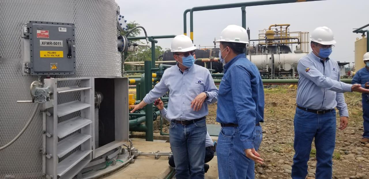 Campo Sacha invierte para reducir consumo de diésel y emisiones de gas