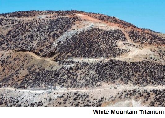 Snapshot: Chile's Cerro Blanco titanium oxide project