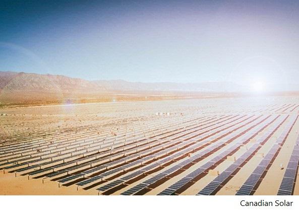 Canadian Solar concentra acuerdos financieros en Latinoamérica