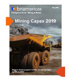 NUEVO REPORTE: proyecciones de inversión minera para 2019