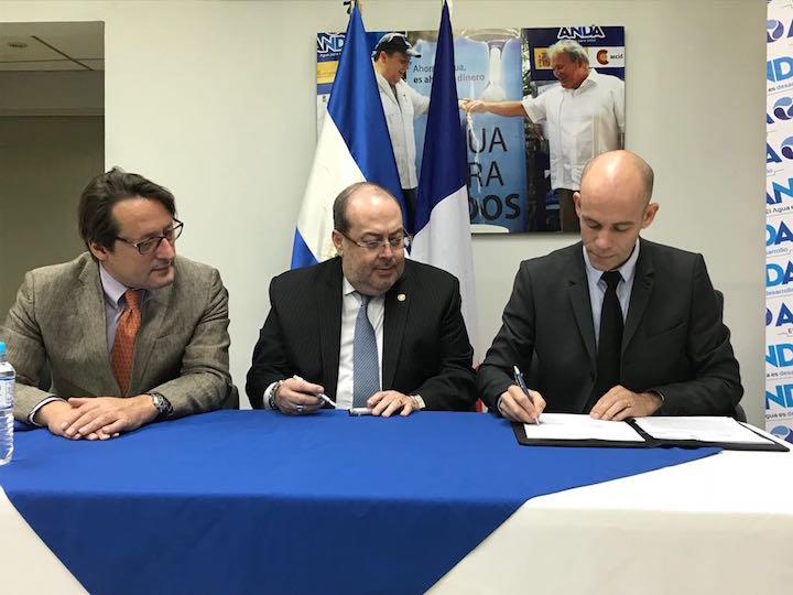 Suez rehabilitará planta de agua potable en El Salvador