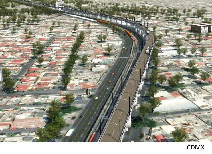 Mexico City to kick off construction of US$200mn elevated trolleybus line this week