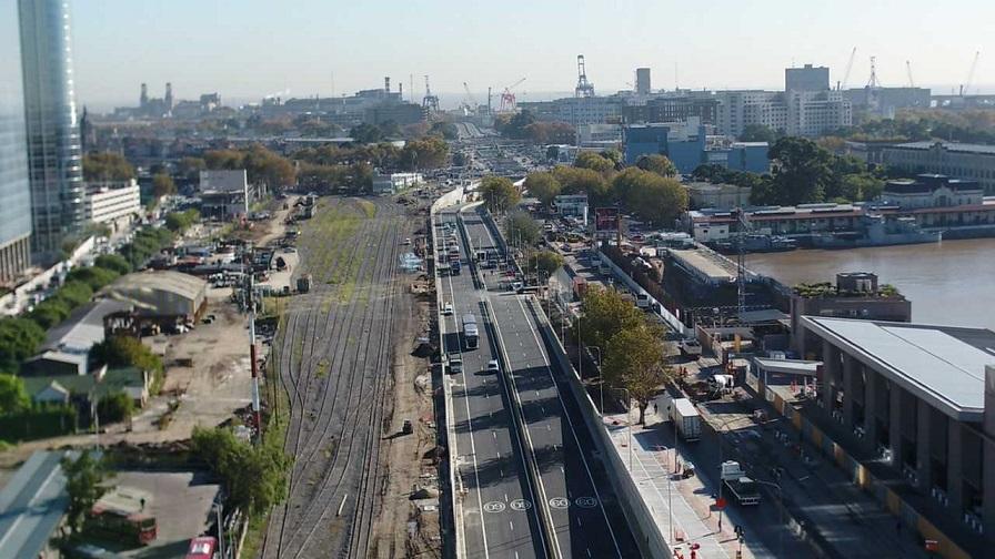 Argentina opens US$650mn Paseo del Bajo corridor
