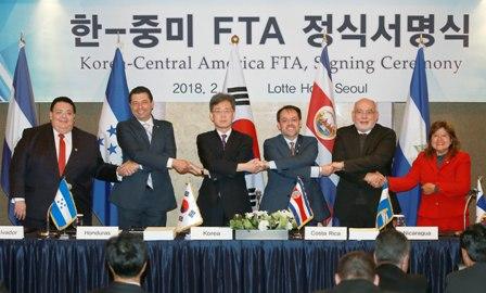 Corea del Sur estrecha lazos con Centroamérica