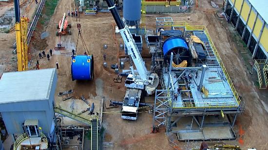 Equinox alista primera producción de mina brasileña de oro