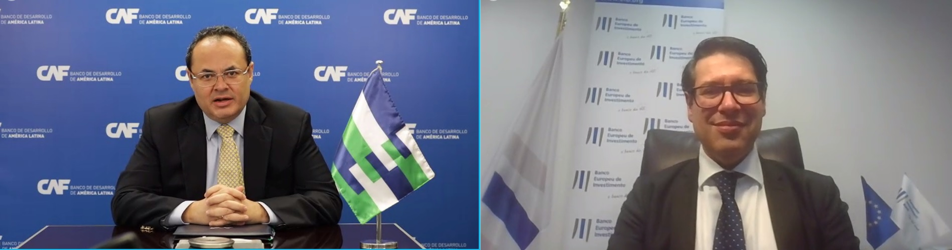 CAF and EIB will co-finance climate action projects that boost employment and competitiveness in Latin America