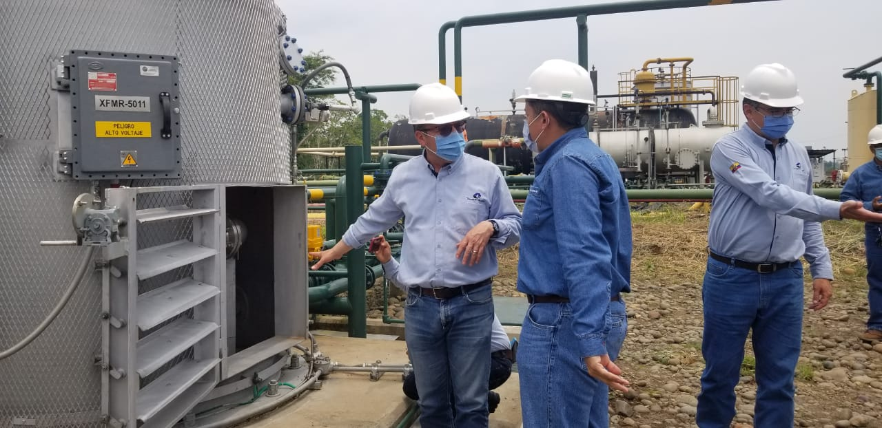 Campo Sacha invests to reduce diesel consumption and gas emissions