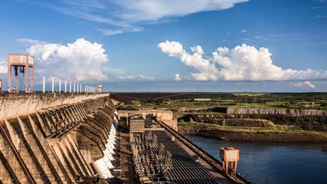 ITAIPU production is at historical lows due to the pandemic and the hydrological condition