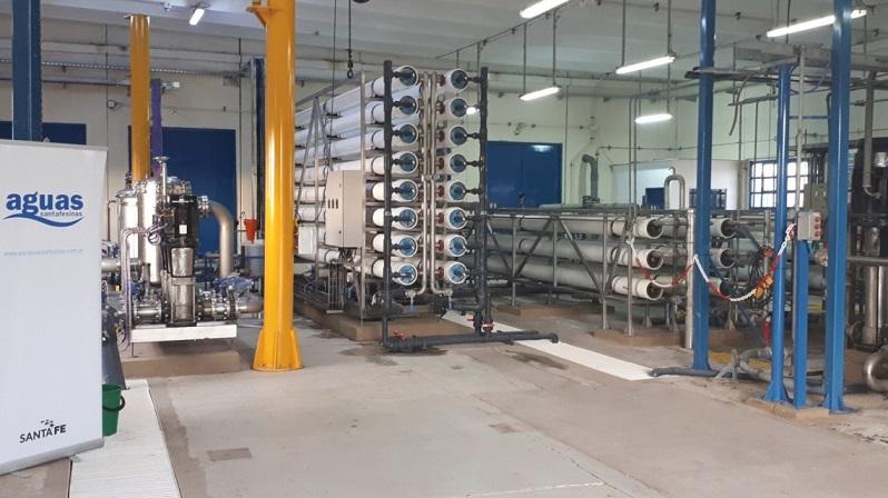 Santa Fe abre oferta por ampliación de potabilizadora