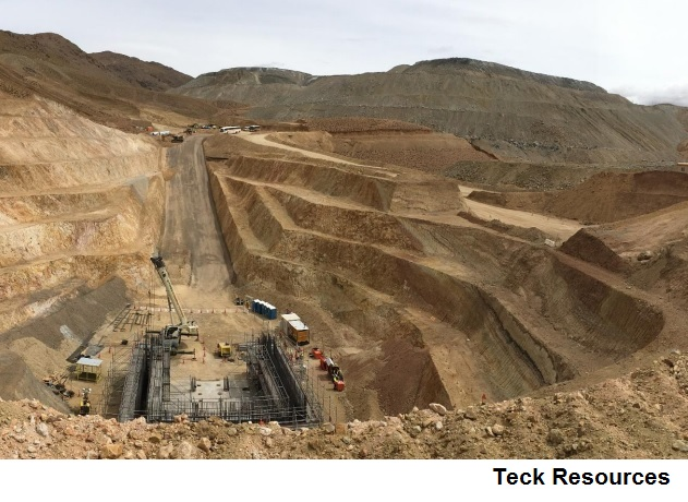 Covid-19 hits Teck's QB2 project