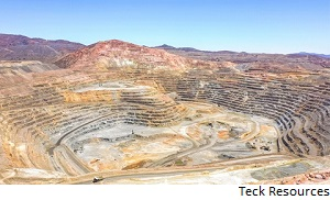 Strike at Teck Chilean mine ends