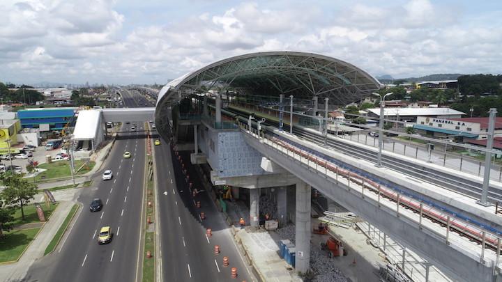 Panama City's 2nd metro line 85% complete