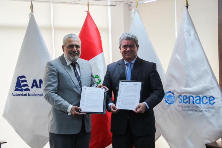 Firman convenio para fortalecer proceso de certificación ambiental en Perú