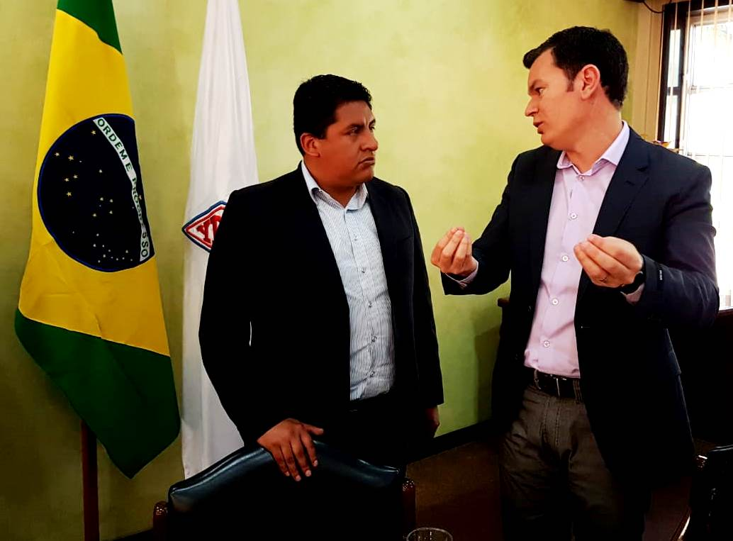 Bolivia negocia con la empresa Hinove Agrociencia de Brasil la venta de 300.000 toneladas de urea