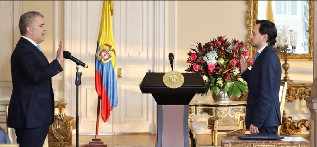 El economista Diego Mesa se posesionó como nuevo Ministro de Minas y Energía de Colombia