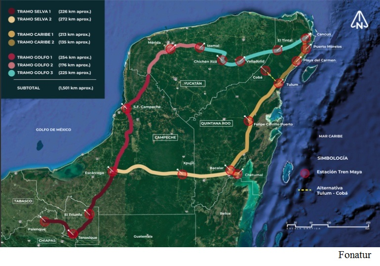 Spanish-Mexican consortium wins Maya train stretch 3 with US$400mn bid