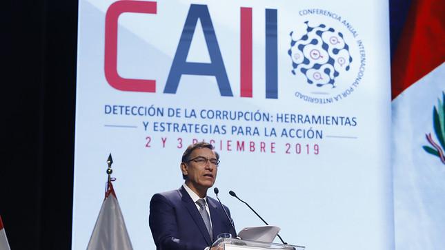 Vizcarra incluye plan de infraestructura de US$29.000mn en cruzada anticorrupción