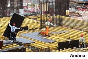 Sector de construcción crecerá casi 4% en Perú