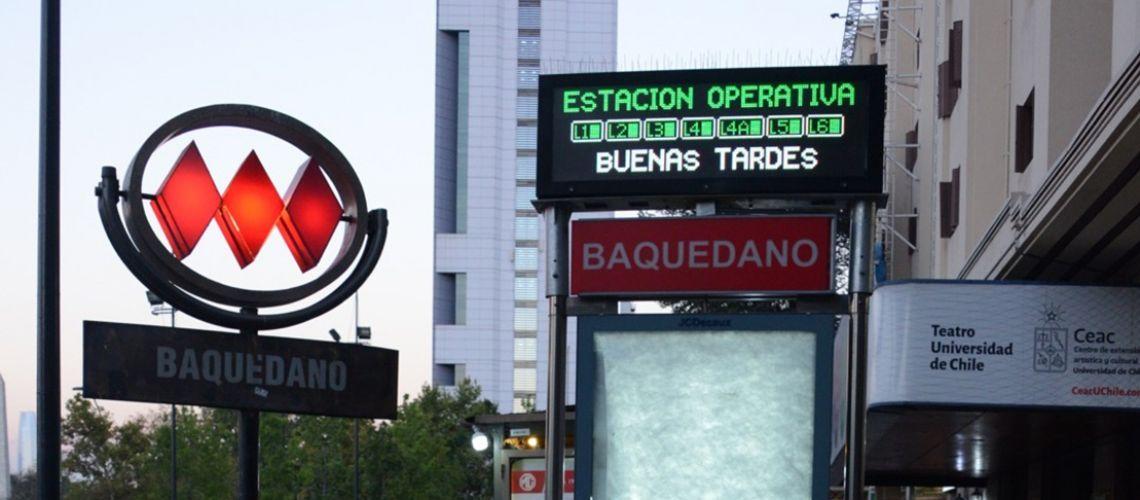 Avanzan planes de ampliación de metro de Santiago