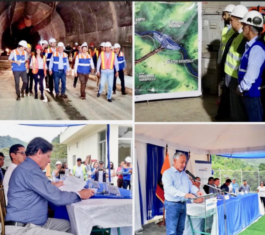 Ecuador recovers the Toachi - Pilatón Hydroelectric project