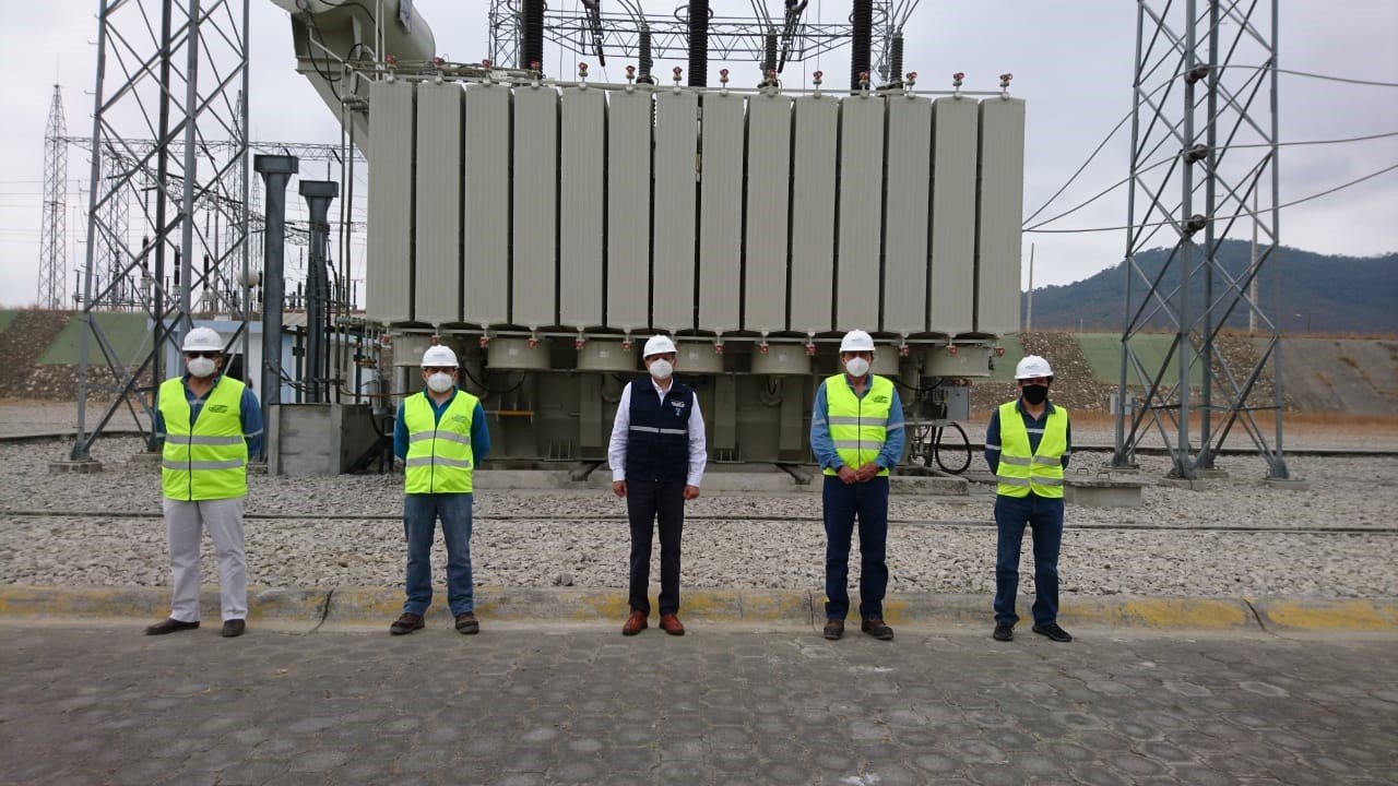CELEC EP put into operation a new transformer in the Nueva Prosperina - Guayaquil substation