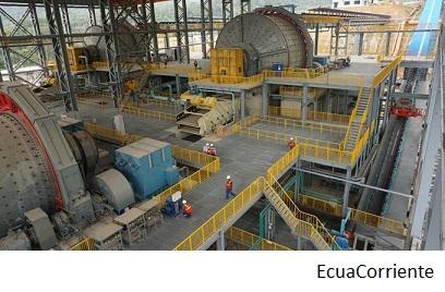 EcuaCorriente invertirá US$108mn en mina ecuatoriana Mirador este año