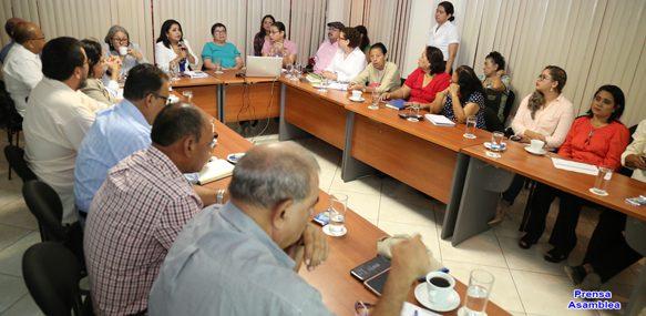 Asamblea Nacional se integra a la Comisión Nacional de Gestión Integral del Recurso Hídrico en Nicaragua