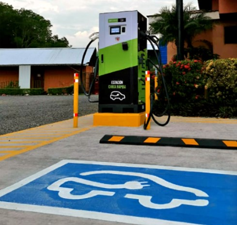 ICE begins installation of 28 fast chargers
