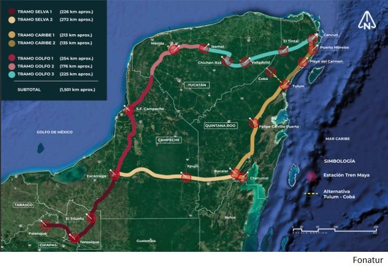 Noventa compañías presentan ofertas por tercer tramo de Tren Maya