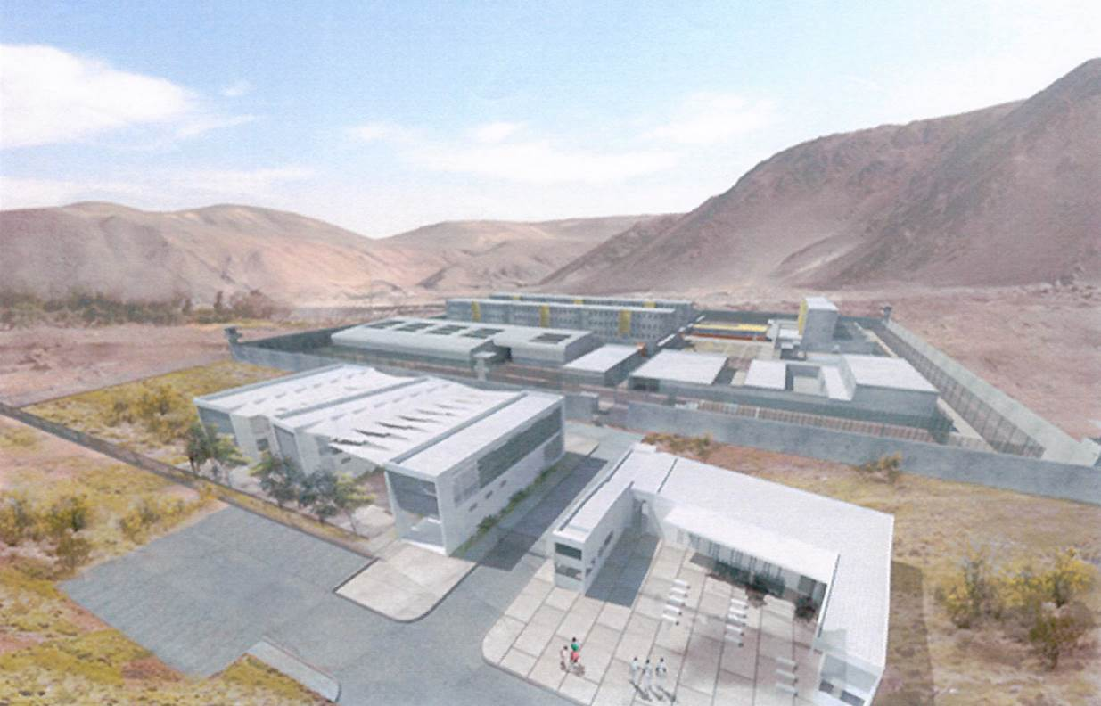 Chile launches tender for the design of a new prison complex for Calama