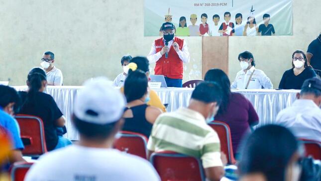 Perú: Ejecutivo contempla inversión de S/ 210 millones para Plan de Cierre de Brechas de Loreto