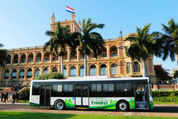Paraguay presents the first 2 electric buses that will operate in public transport