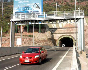 Calificaciones de concesionarias viales de Chile siguen indemnes