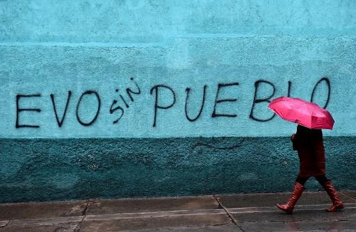 Bolivia: celebraciones contra Morales en un país sin presidente