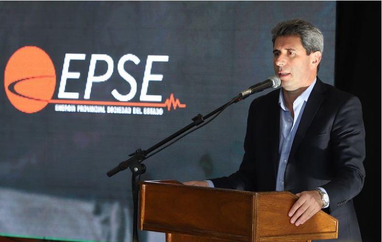 Uñac firmó el contrato para la construcción de la última etapa de El Tambolar