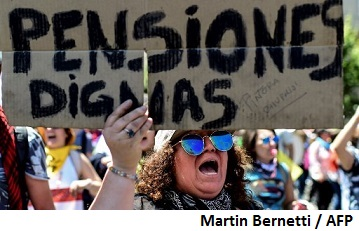 Chile hikes solidarity pillar pension payments