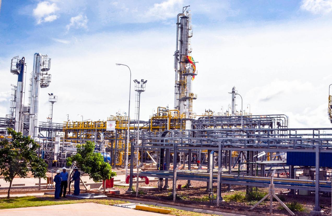 Reservas de gas de Bolivia valdrían US$90.000mn, según ministro