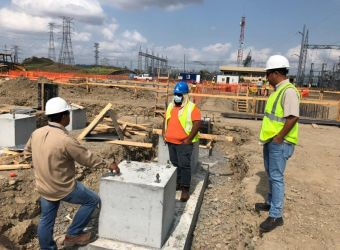 Panama continues with projects to strengthen the transmission system