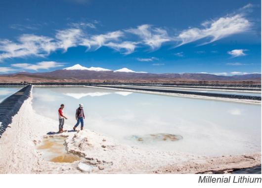 Cuatro proyectos para fortalecer la industria argentina del litio