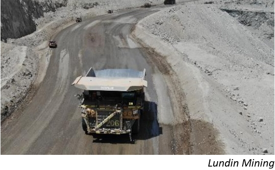 Lundin's capex reduction to affect Chile's Candelaria
